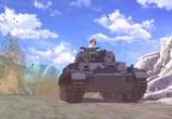Сцена из фильма Девушки и танки / Girls und Panzer (2012) Девушки и танки. сцена 3