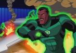 Сцена из фильма Зеленый Фонарь / Green Lantern: First Flight (2009)