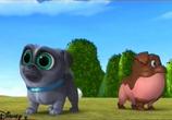Сцена из фильма Дружные мопсы / Puppy Dog Pals (2017)