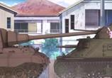 Сцена из фильма Девушки и танки / Girls und Panzer (2012) Девушки и танки. сцена 6